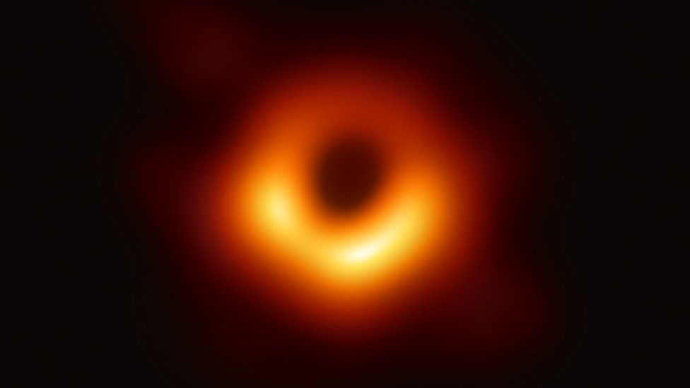 Black Hole at the center of M87 Galaxy