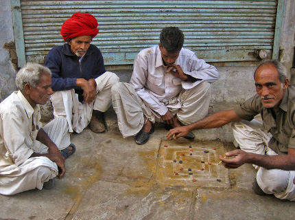 Nav Bara - board game played in India